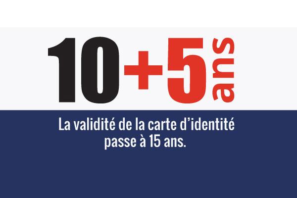 duree de la carte d identité Durée de validité de la Carte d'identité | Informations sur les